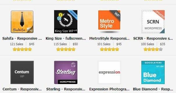 Geschäftsmodelle mit WordPress Premium Themes