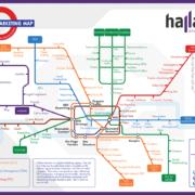 Die Fahrplankarte des Online-Marketing
