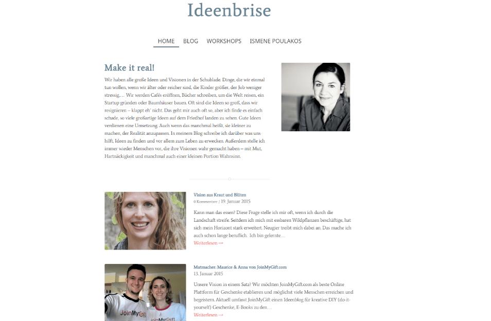 Ideenbrise Blog