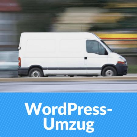 wordpress umzug