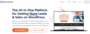 landing page plugin optimizepress