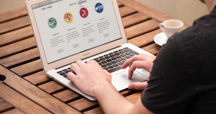 Einzelne Websites für über 40