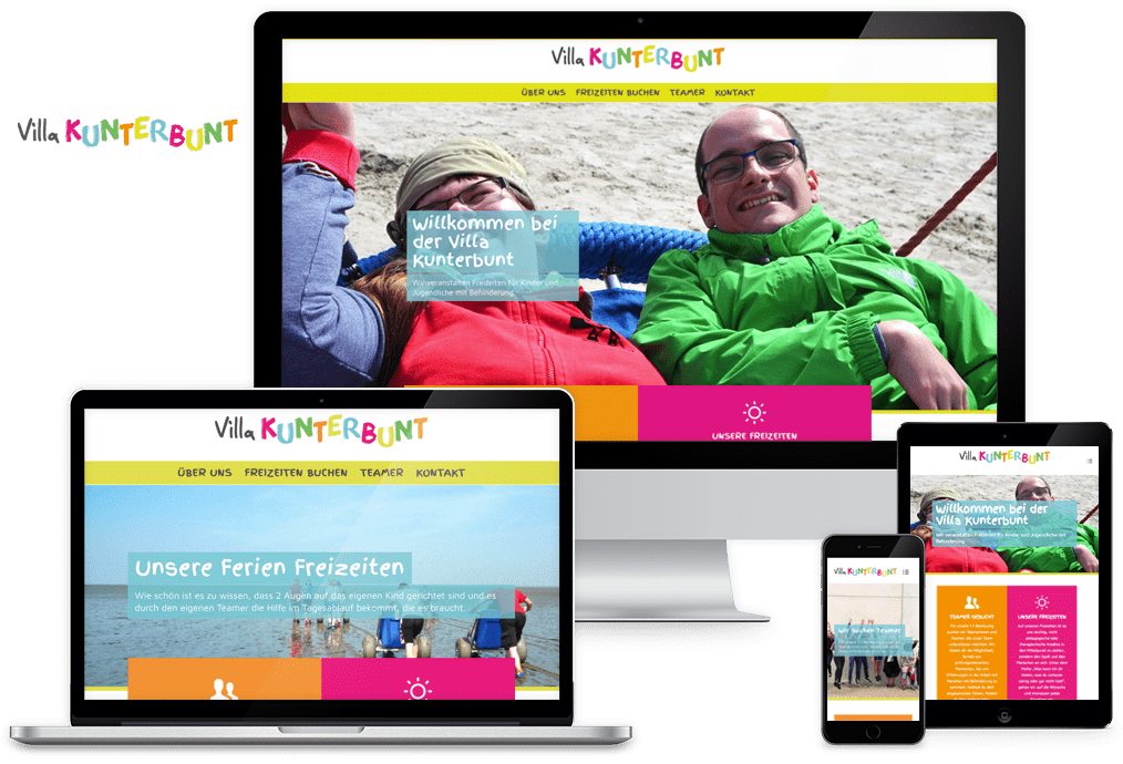 wordpress-website-villakunterbunt
