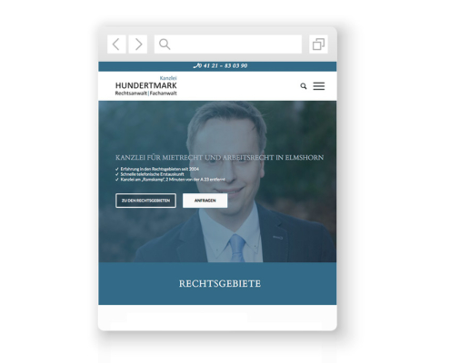 wordpress-website-hundertmark