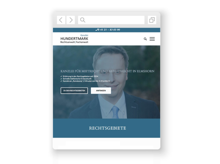 wordpress-website-hundertmark
