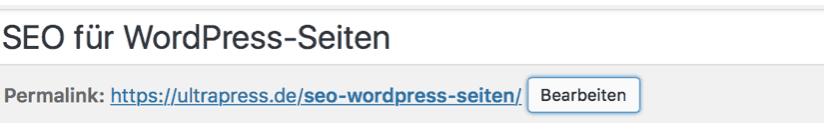 URL SEO WORDPRESS