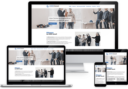 Wordpress Website ASMW-Consult