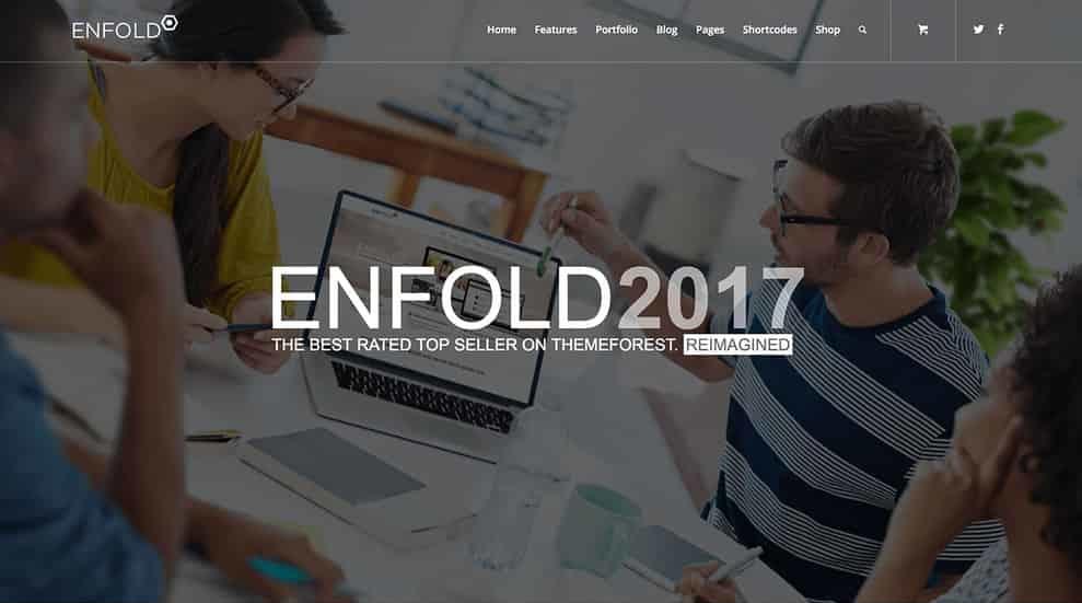 Enfold Demo 2017