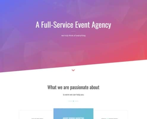 enfold-agency-onepage