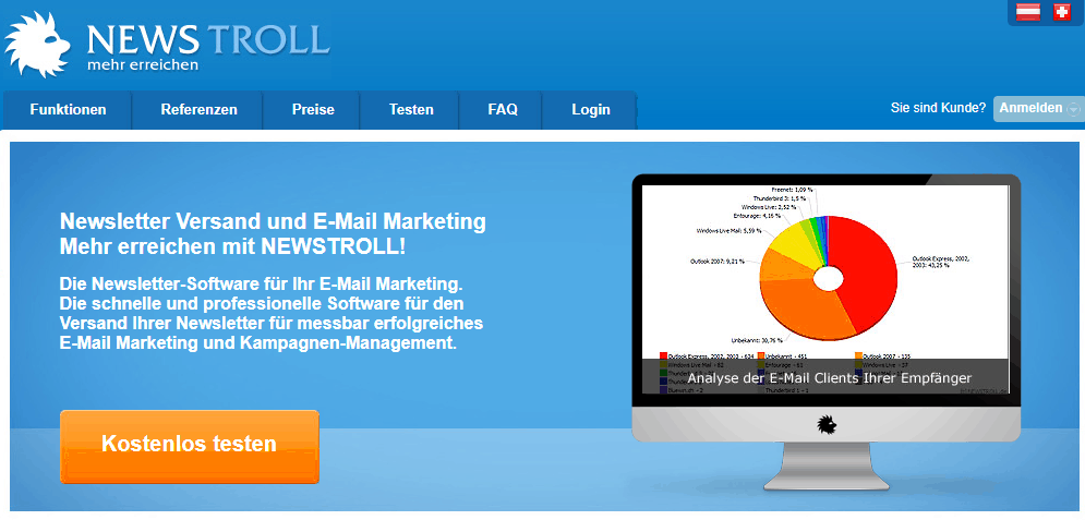 kostenloses newsletter tool newstroll