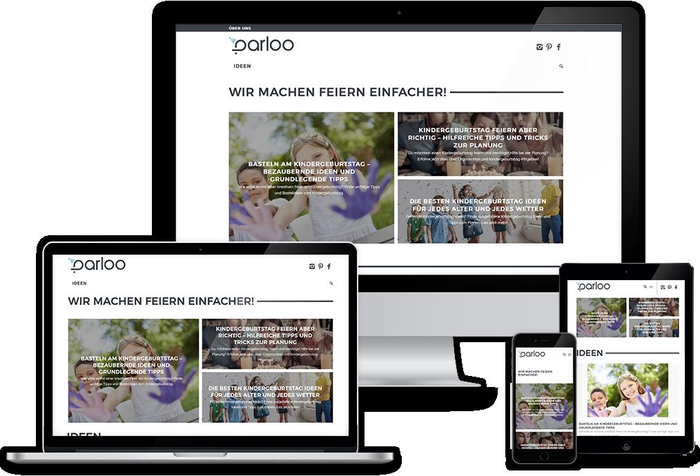Wordpress Website Referenz