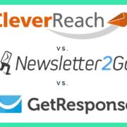 Cleverreach im Newsletter Software Vergleich mit Newsletter2Go und GetResponse