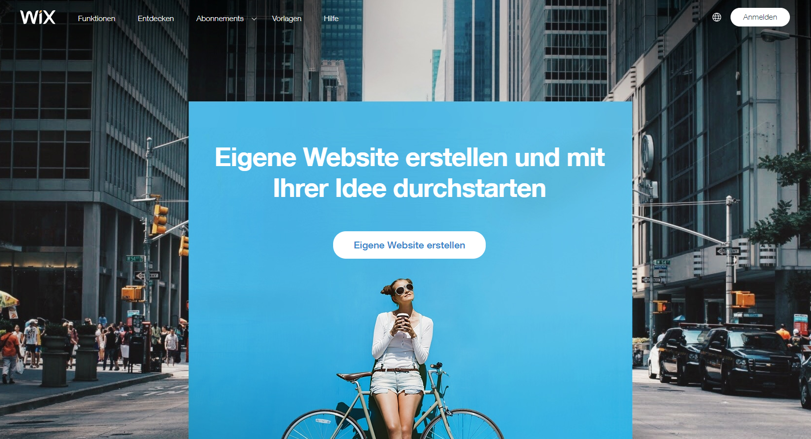 wix als blog plattform