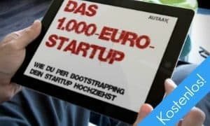 Das 1.000-Euro-Startup