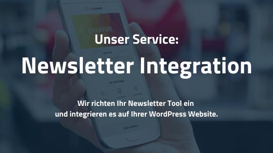 Newsletter Integration