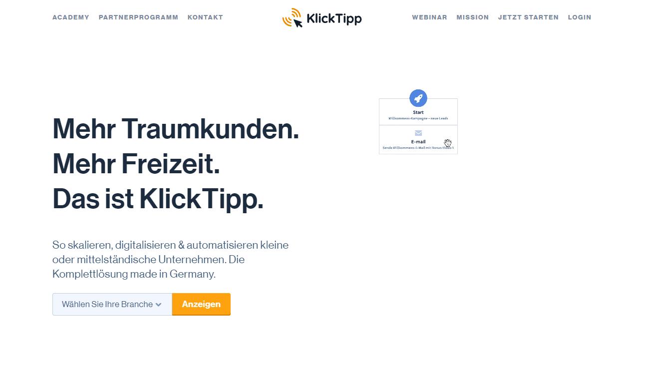 klicktipp - wordpress newsletter plugin