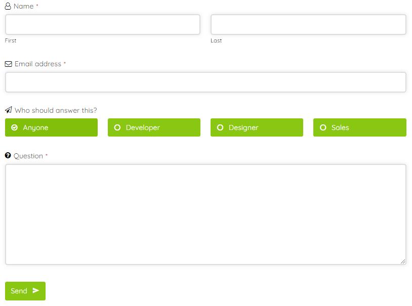 Vorqualifizierung von Kundenanfragen mit WordPress Formular
