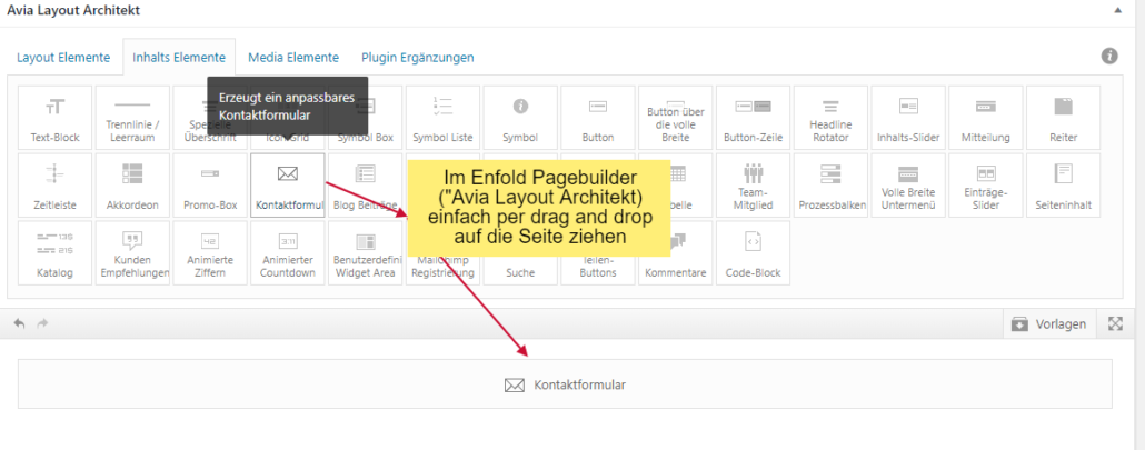 alternative zu wordpress kontaktformular plugin