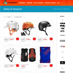 WooCommerce Beispiel Online Shop für Wakeboarding