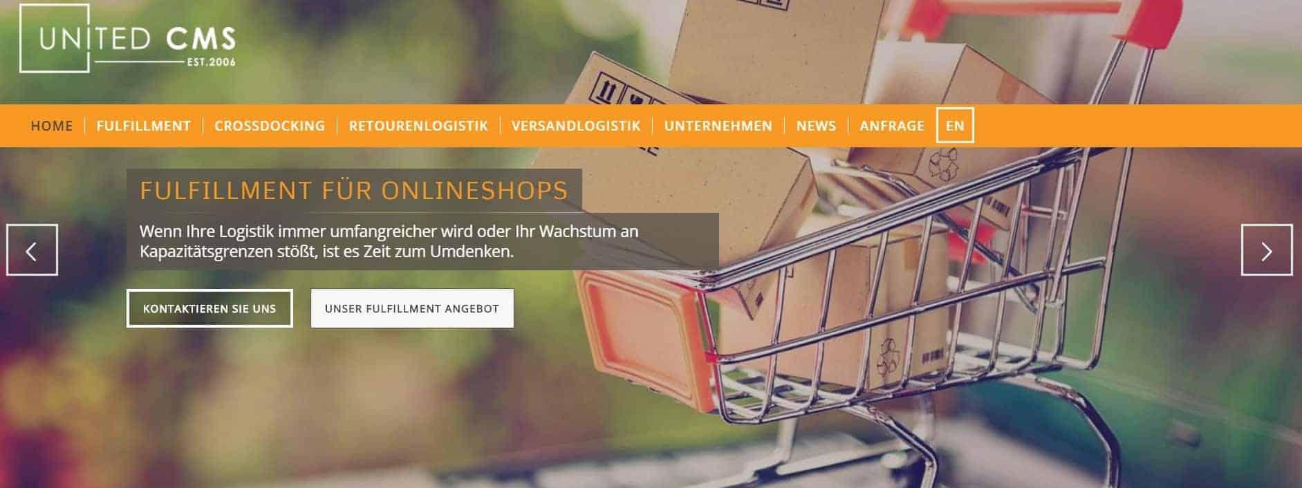 WordPress Slider Beispiel United-CMS