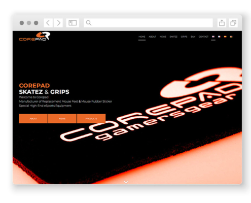 wordpress-website-corepad