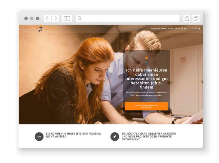 wordpress-website-karriereberatung