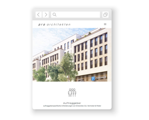 wordpress-website-pro-architekten