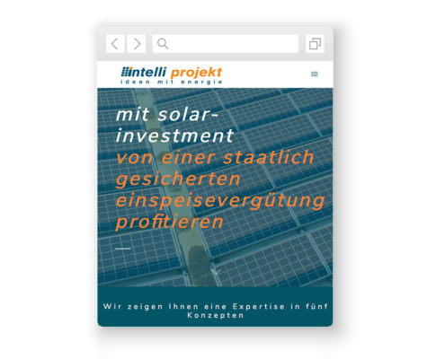 wordpress-website-intelliprojekt