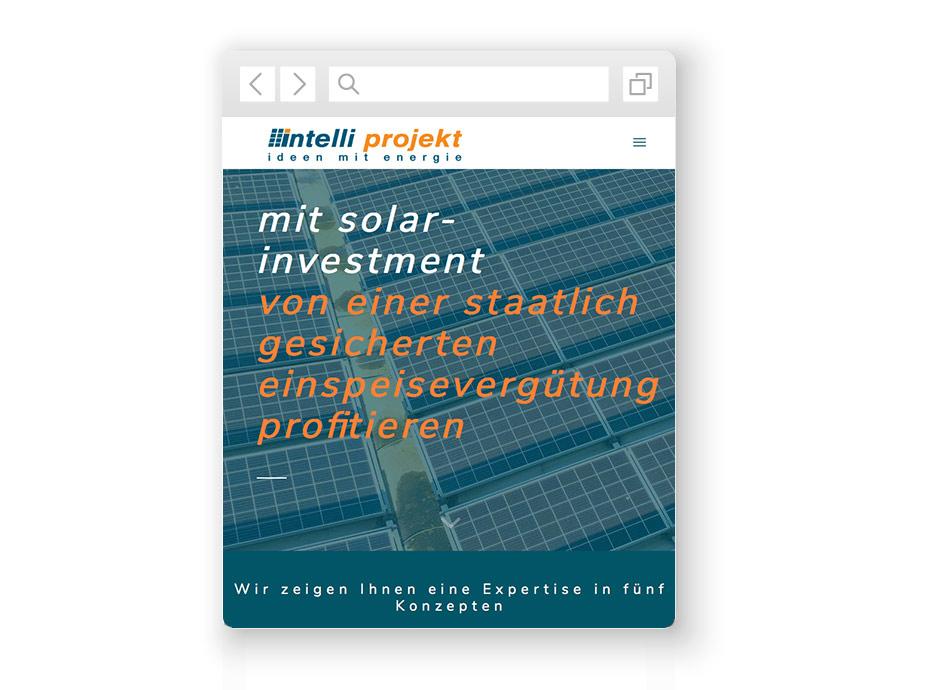wordpress-website-intelliprojekt