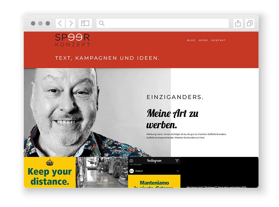 wordpress-website-speerkonzept